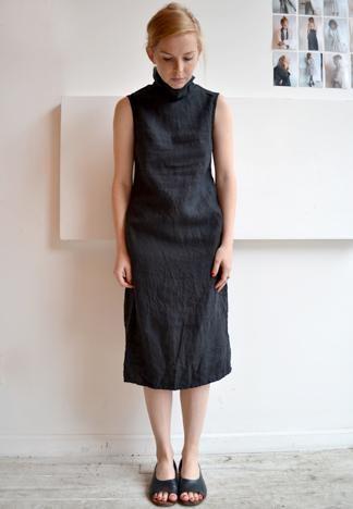 high collar dress from pip-squeak chapeau.