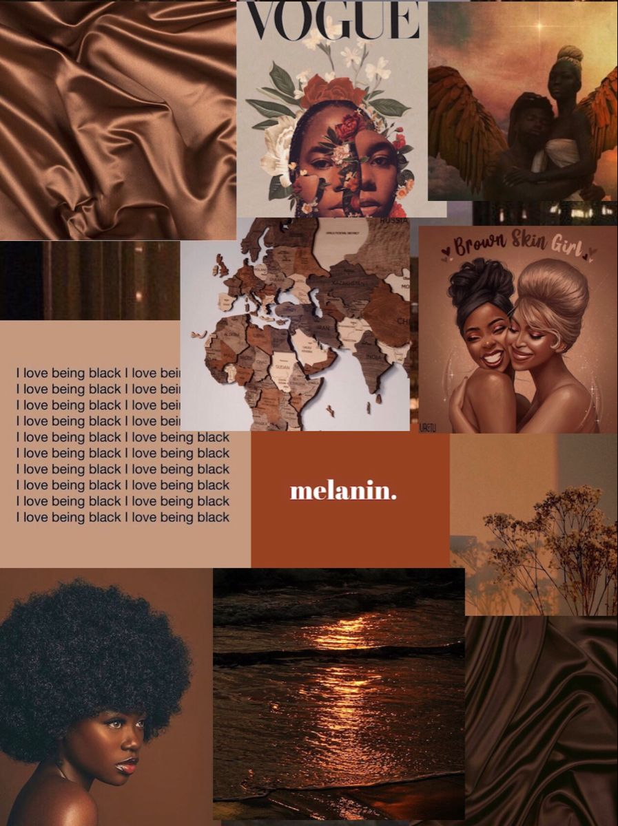 Melanin Black Aesthetic Wallpaper Black Girl Aesthetic Black Girl Magic Art