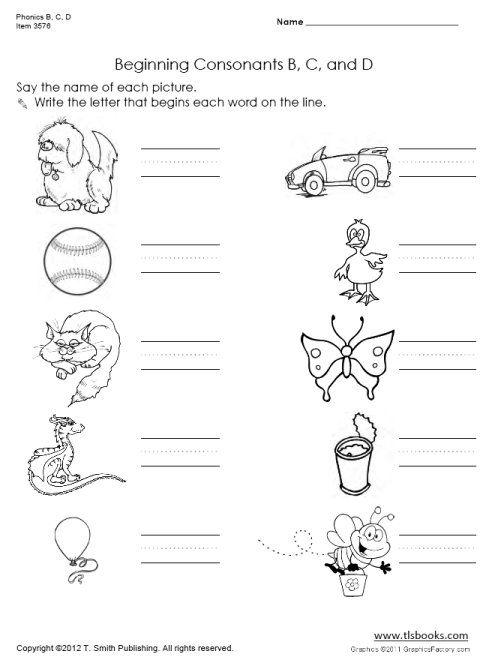 Site has assortment of free worksheets k-6 Worksheets - phonics worksheet