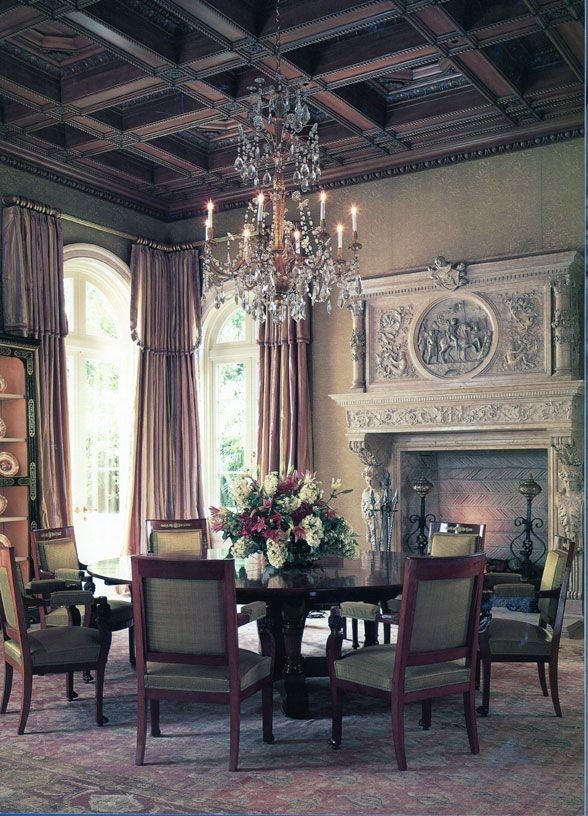 dining room palm beach italian renaissance - Italian Renaissance Interior Design
