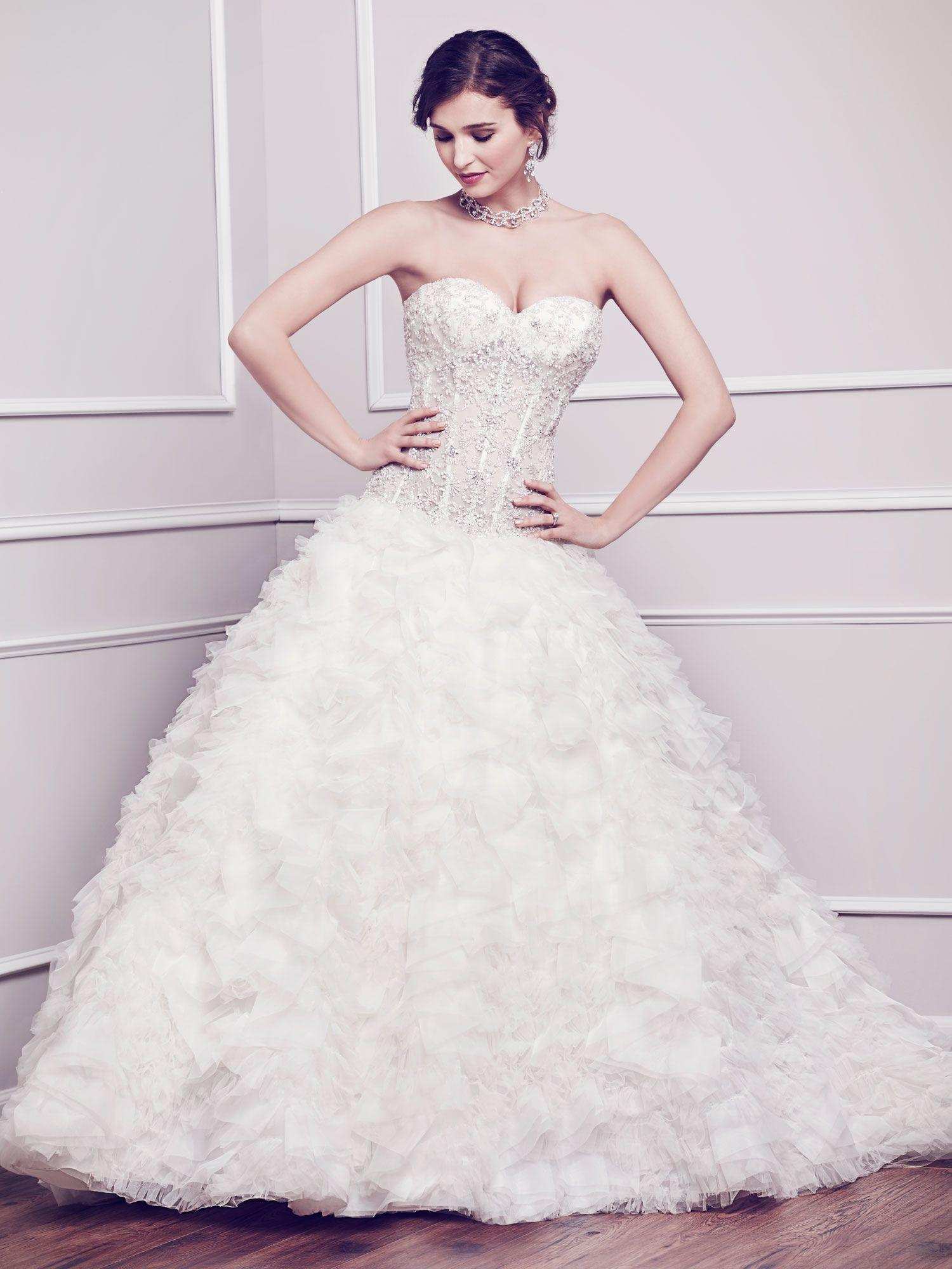 Winston Style 1574 Fairy tale wedding dress
