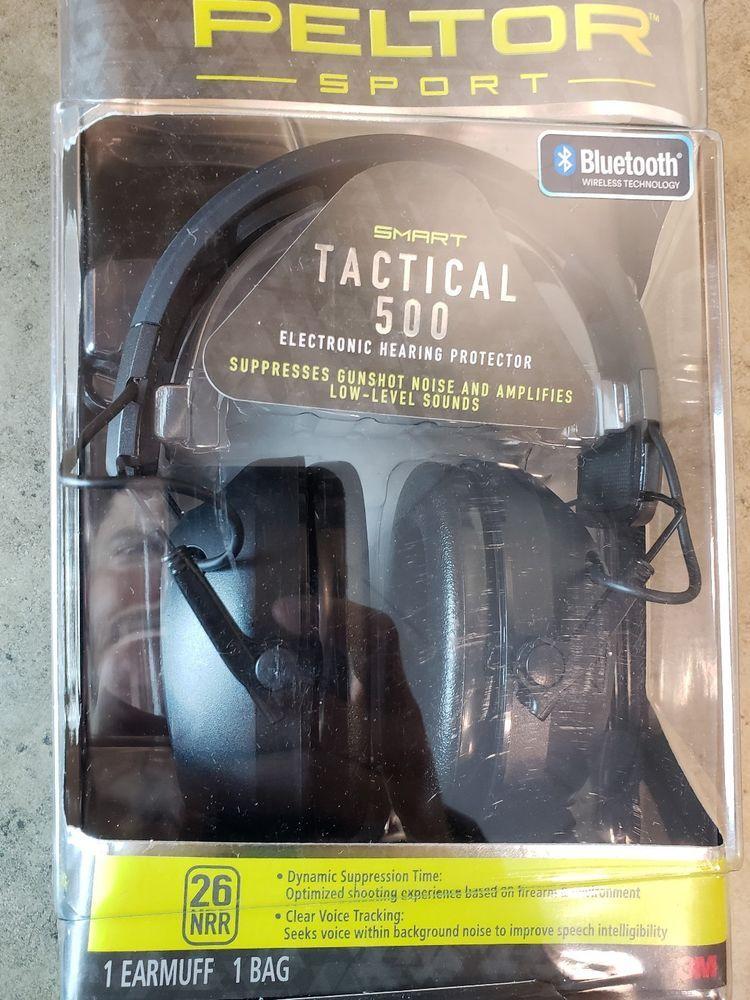 Peltor Sport Tactical 500 26db Bluetooth Electronic