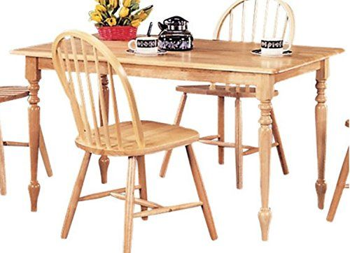 3d939b6685 Small Kitchen Table, Dining Tables For Small Spaces, Rectangle, In Warm  Natural Wood Finish-Create a perfect,casual dining experience in your home!
