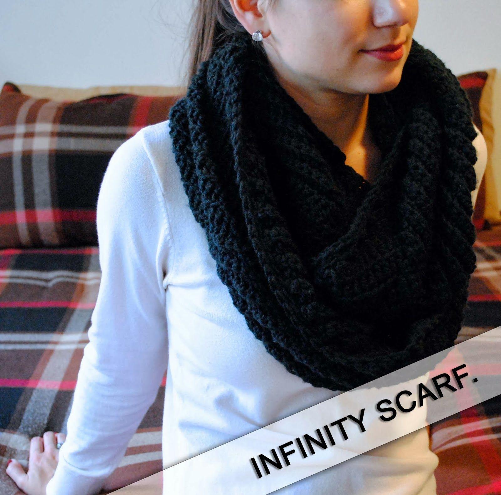 LOEE. M.: SUBTLE CHEVRON INFINITY SCARF. | Crochet patterns | Pinterest