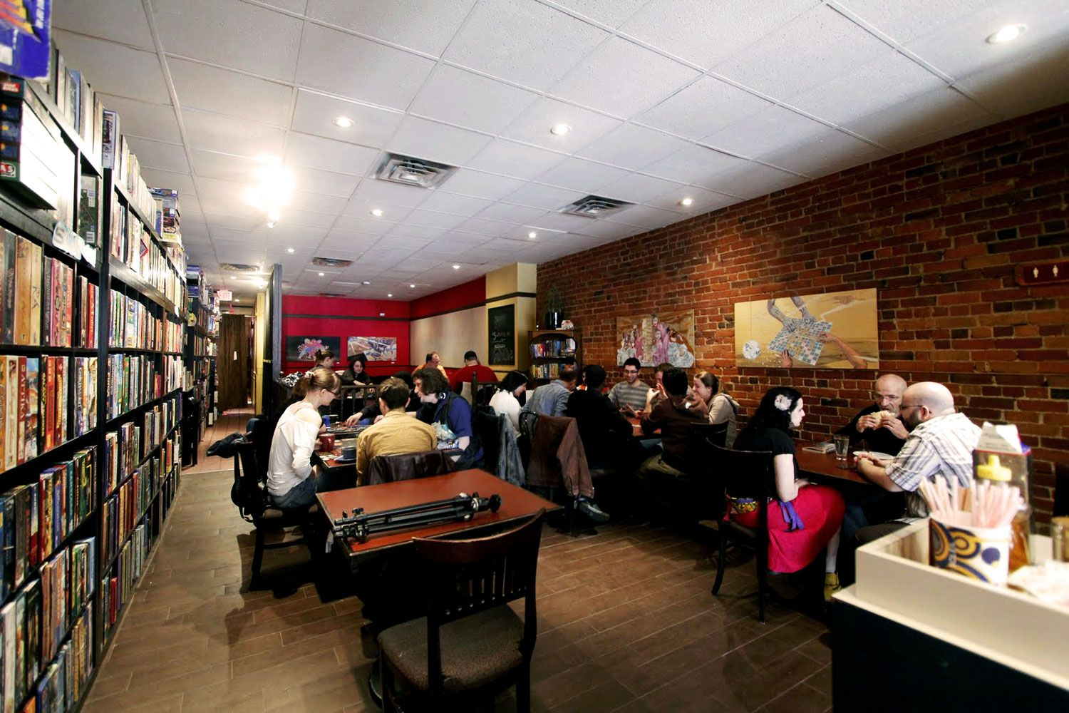 Snakes & Lattes board game cafe, Toronto I want to go