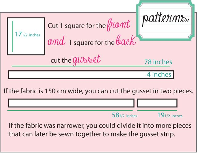 Quilted Floor Cushion Tutorial English Version My