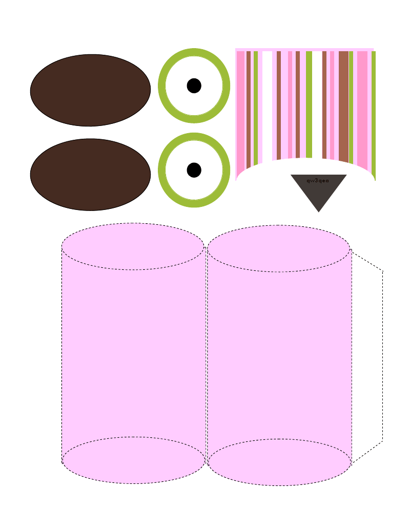 owl box print out printable free boxes pinterest arte con