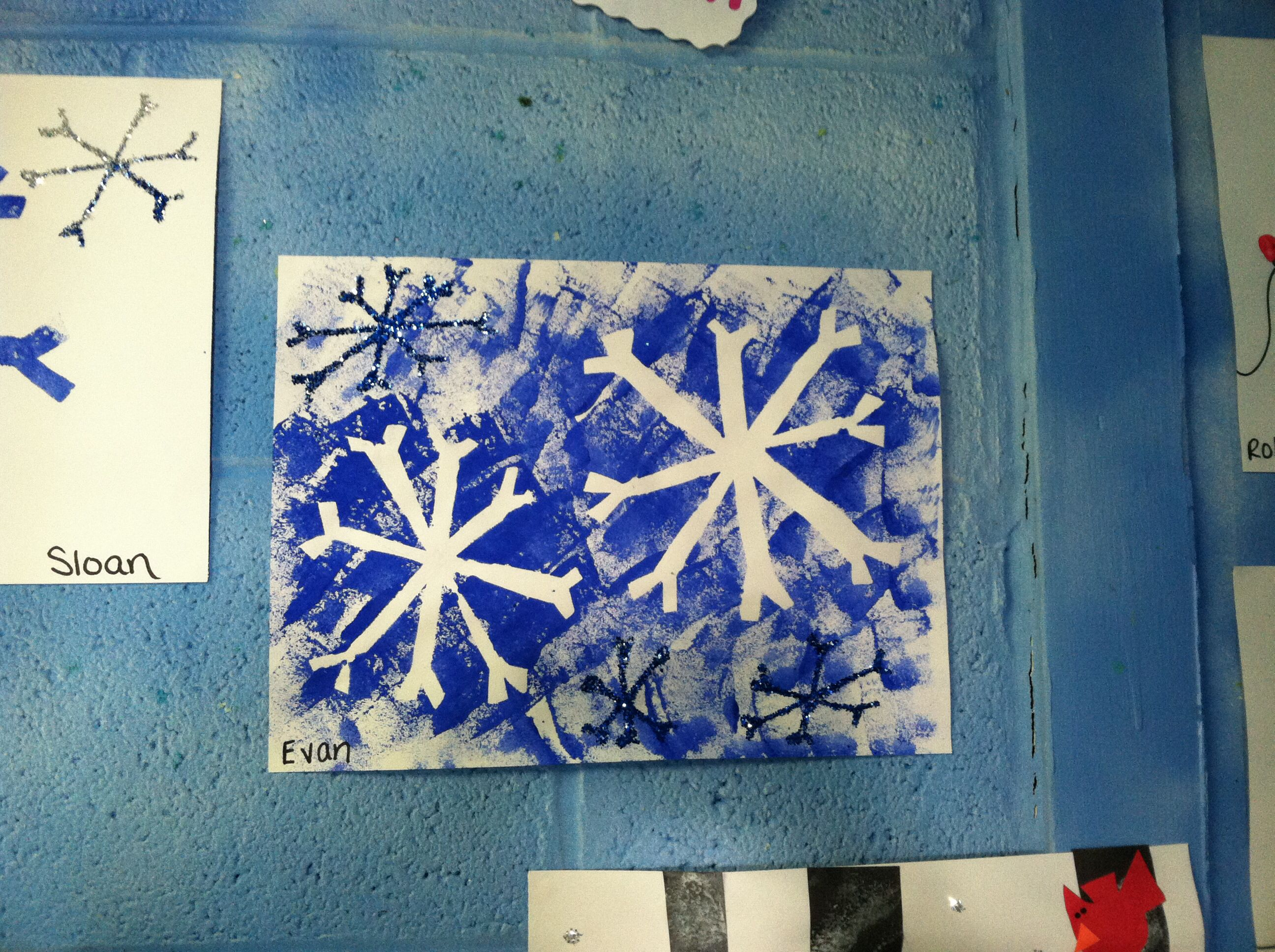 Snowflake Craft Ideas For Kids Part - 23: Winter Craft Ideas For Kids ! Cute Snowflake Craft