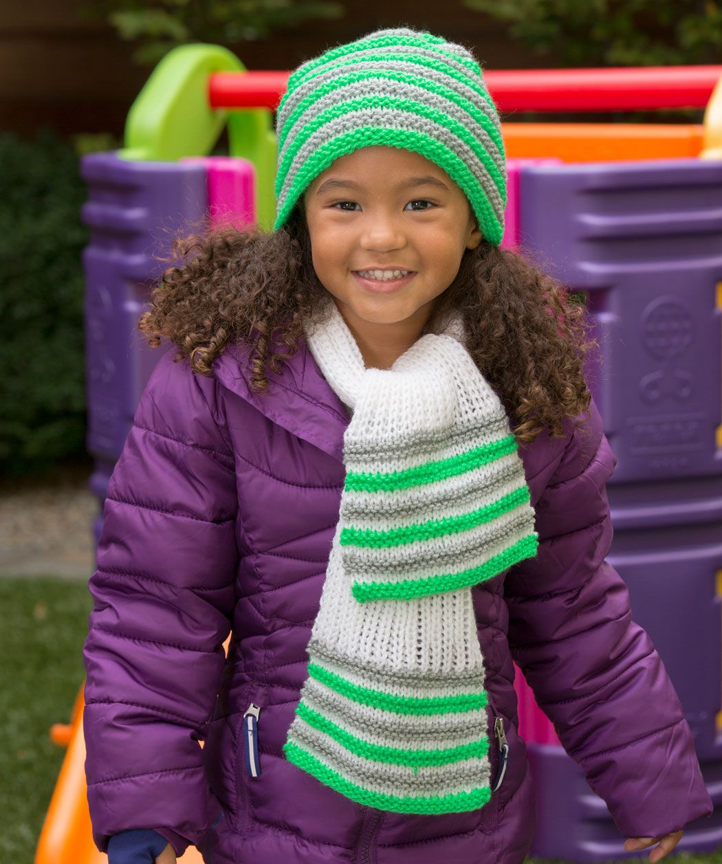 Beautiful Free Knitting Patterns Childrens Hats And Scarves Image ...