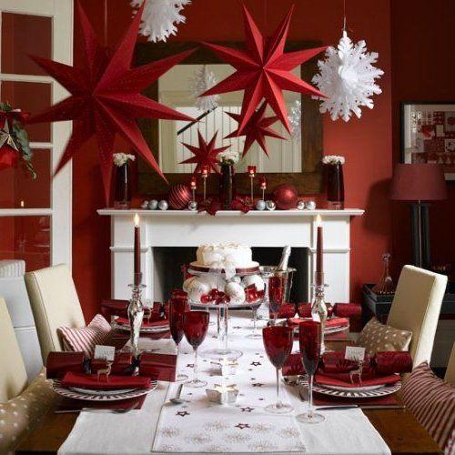 Arreglos Navideños 2016 2017 100 Fotos Ideas Y Tendencias Christmas Centerpieces Christmas Table Decorations Christmas Table Settings