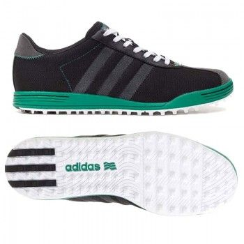 Adidas Adicross II Men's Wide-Fit Spikeless Golf Shoes - Black ...