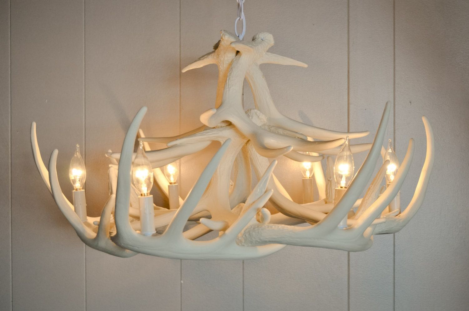 Picture of white antler chandelier displaying unique and rustic picture of white antler chandelier displaying unique and rustic details in your home interior arubaitofo Choice Image