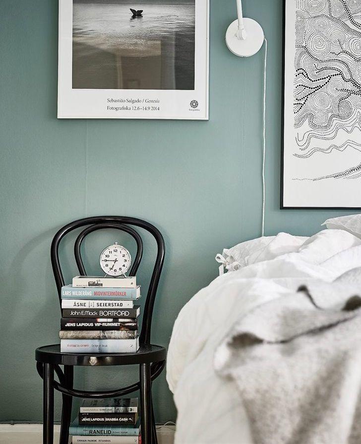 marvellous green grey bedrooms walls | Grey green walls - via cocolapinedesign.com | Bedroom in ...