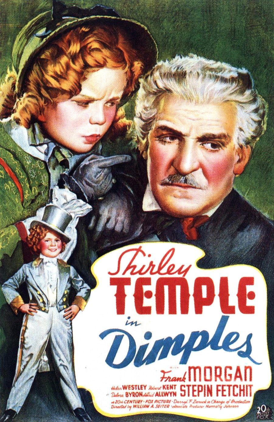 Shirley Temple in Dimples Movie Poster 901x1387