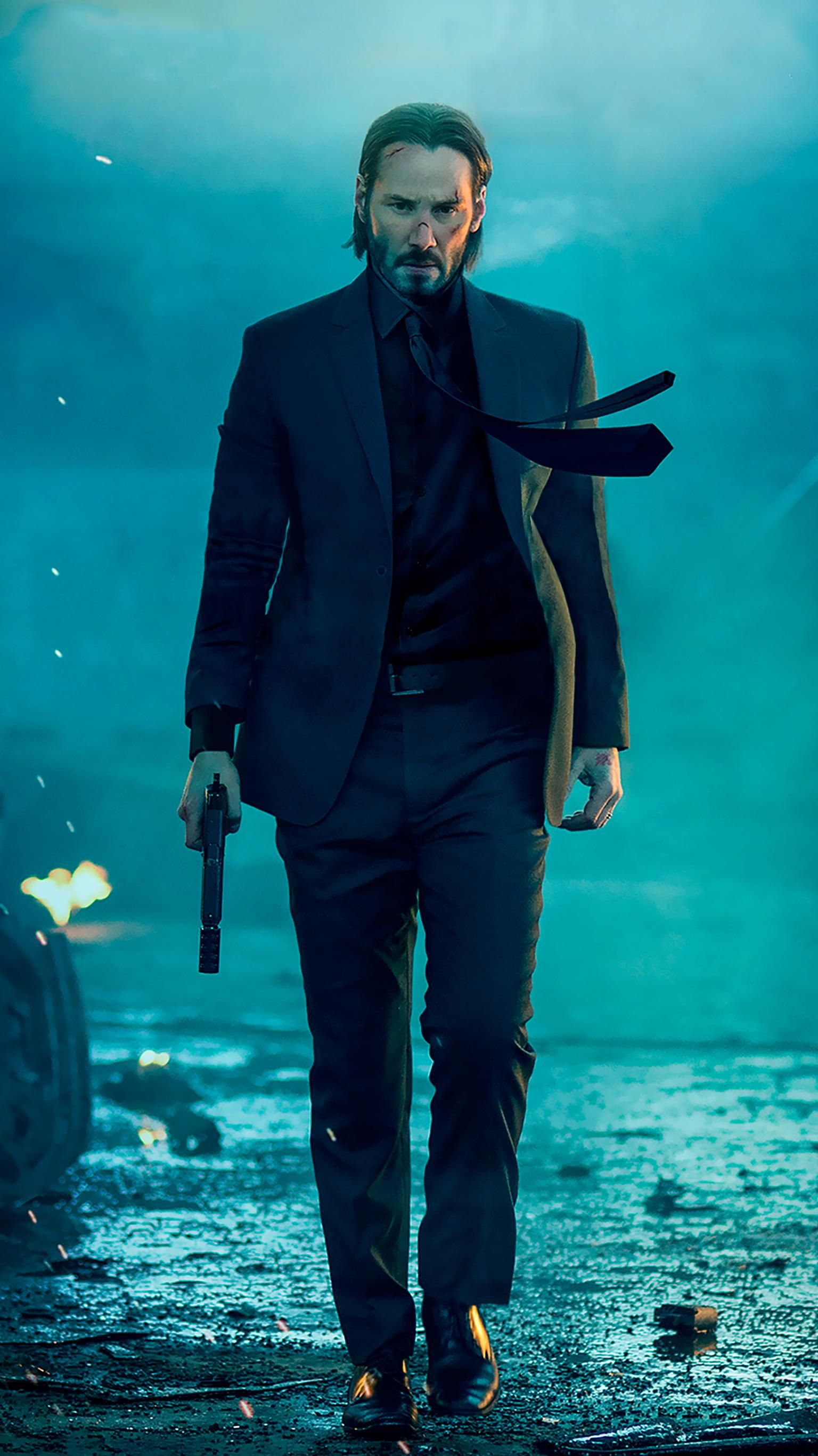 John Wick 2014 Phone Wallpaper Moviemania Keanu Reeves John Wick John Wick Movie John Wick Hd