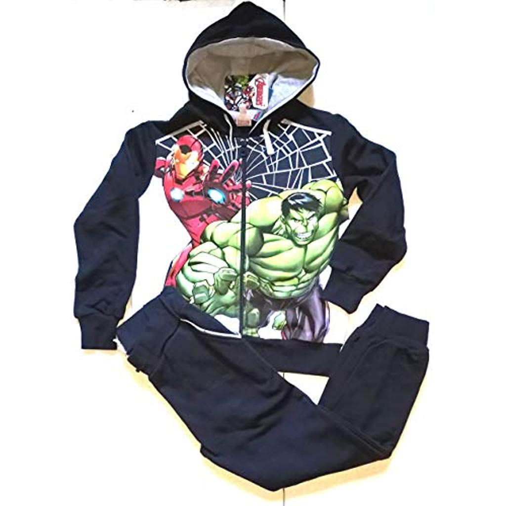 Completo Felpa Pantaloni Tuta Avengers Marvel Prodotto
