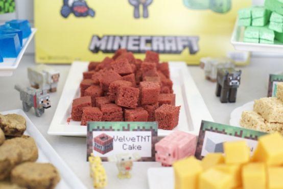 ideas para tu fiesta de minecraft en casa