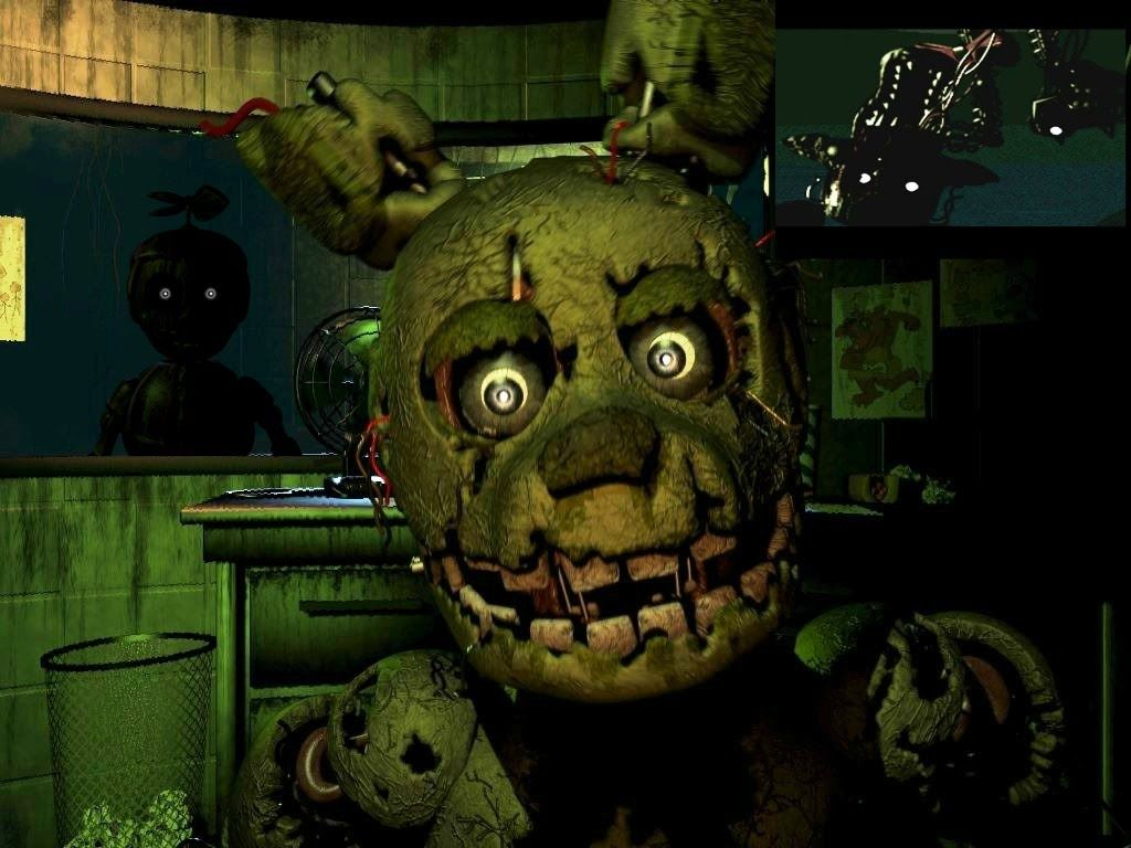 Five Nights At Freddy S 3 Mangle Balloon Boy And Springtrap