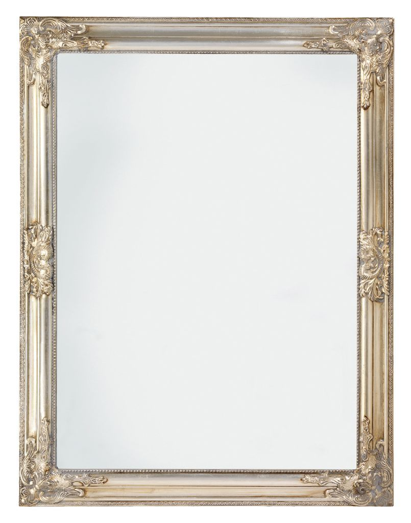 Ogledalo Rude 70x90cm Srebrni Okvir Jysk Spava A Pinterest