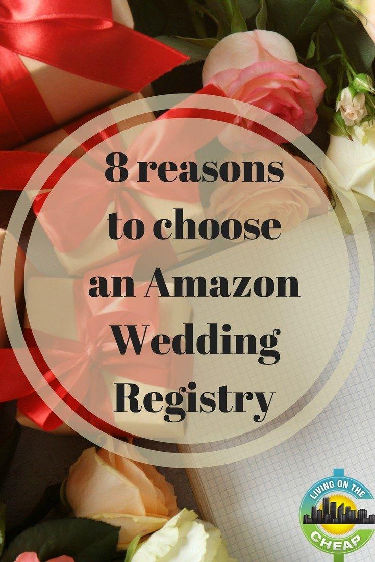 Benefits of choosing amazon wedding registry amazon