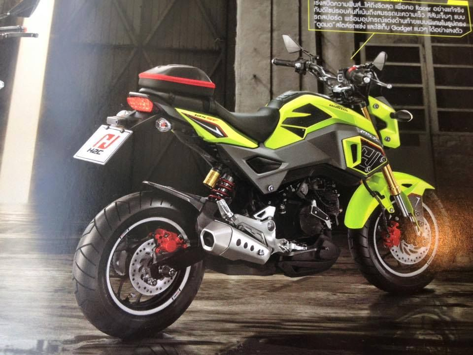 200 Custom 2017 Honda Grom Msx 125 Pictures Photo