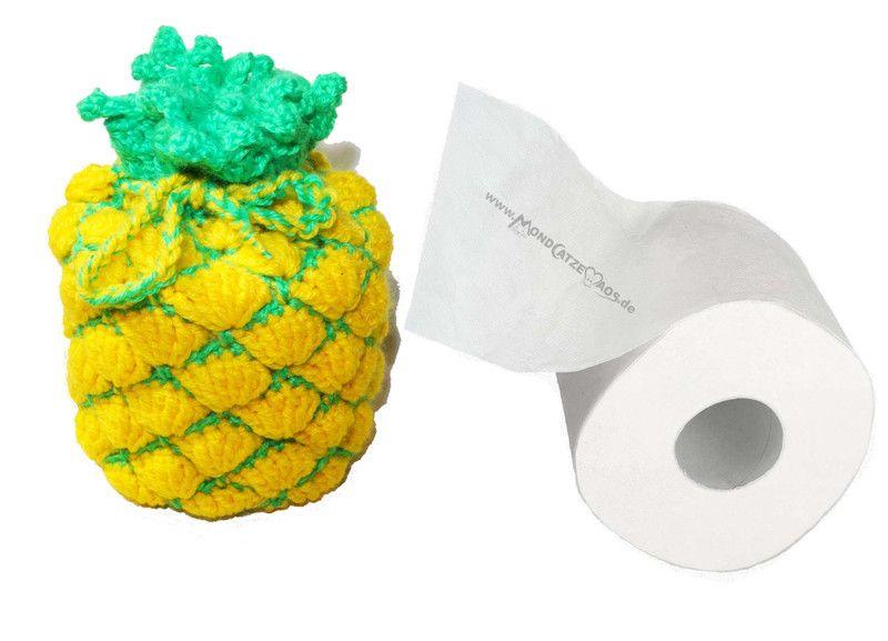 Klopapierhute Verstecker Klorollenversteck Ananas Ein Designerstuck Von Mondcatze And Maos Bei Dawanda Ananas Etsy Handgefertigt