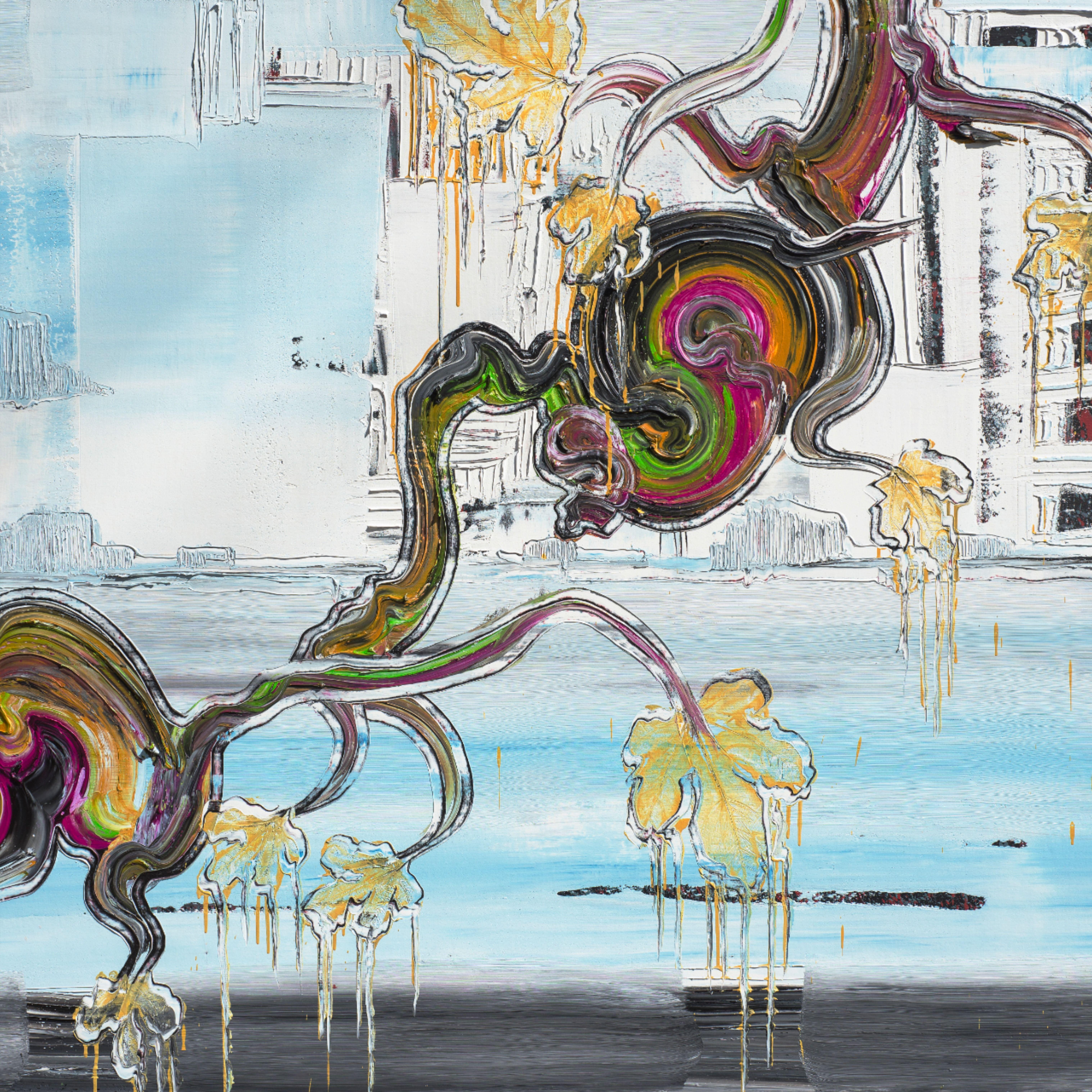 moderne kunst bilder zeitgenössische französische maler ölbilder auf leinwand