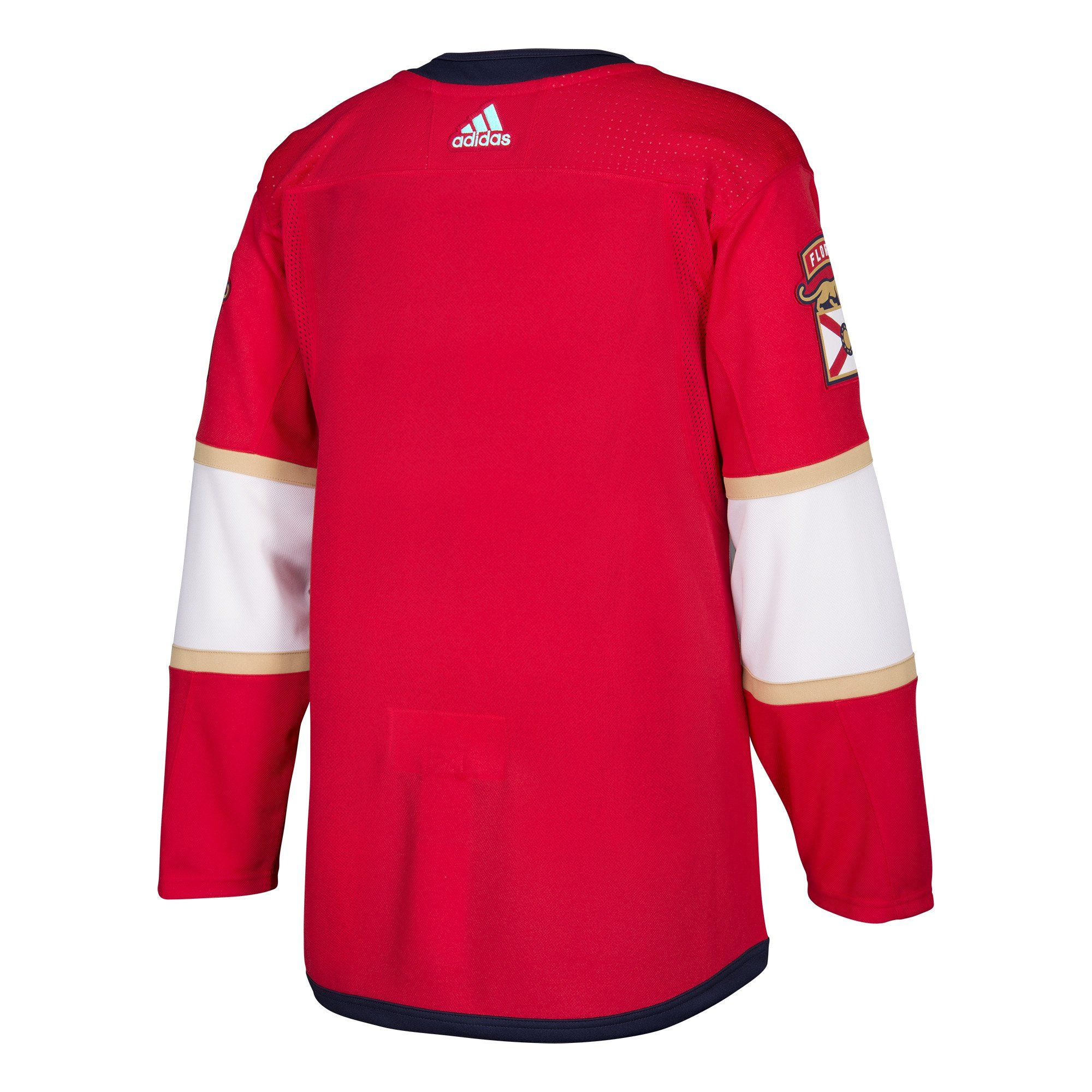 Florida panthers adidas mens red authentic jersey with
