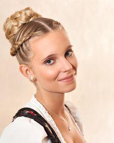 German Women Hairstyles Google Da Ara Braided