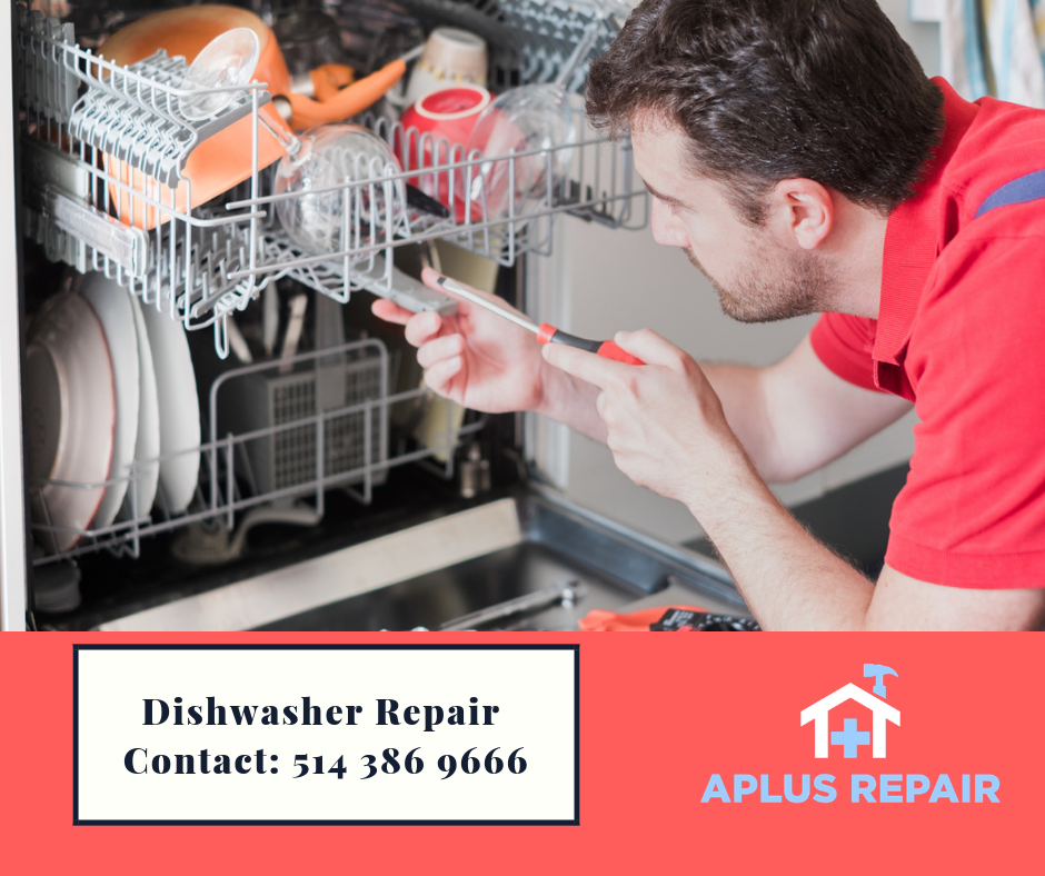 Having trouble with your dishwasher?😮 Aplus Repair