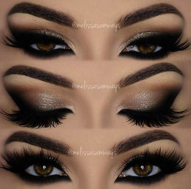 Eye Makeup Looks For Red Dress Beautiful Eye Makeup Green Eyes