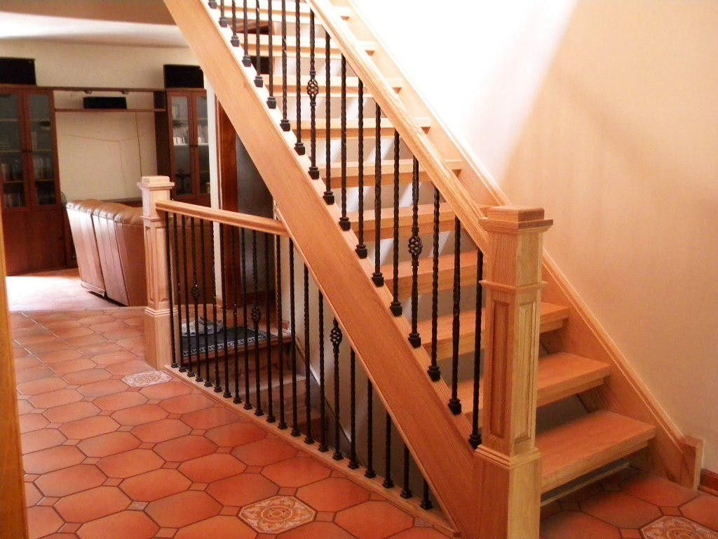 Famous interior stair railing