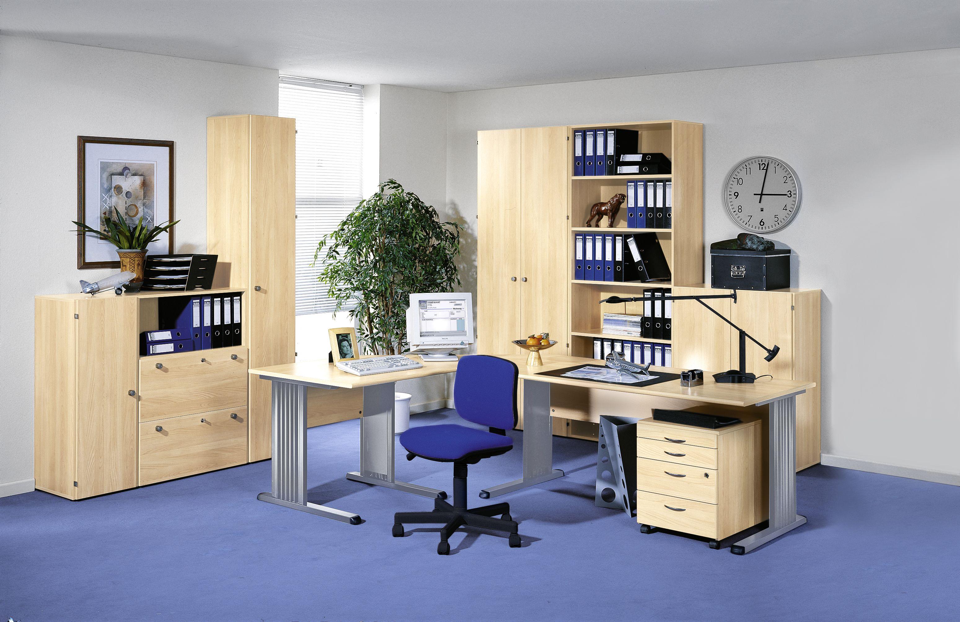 Büromöbel BRAVO Ahorn-Dekor von Schäfer Shop | Büromöbel BRAVO von ...