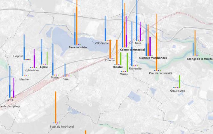 cartographie sensible du grand territoire | Quentin LEFEVRE - Urbanisme, Design et Cartographie sensible