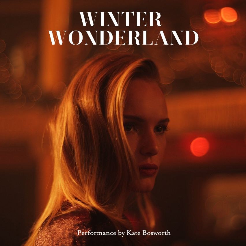 Kate bosworth for topshop winter
