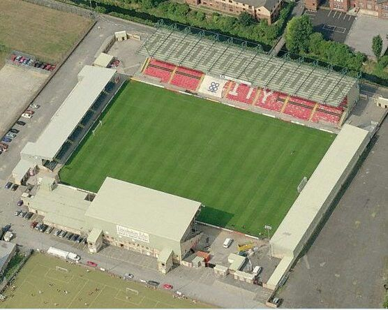 Sincil Bank Lincoln City Football Stadiums Stadium Soccer Field