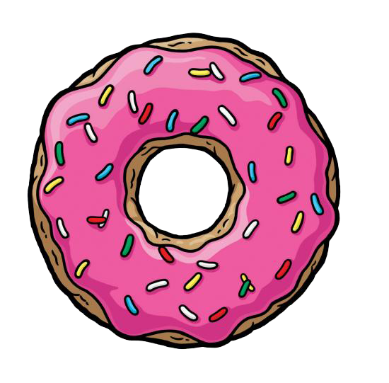 simpsons donut iphone wallpaper