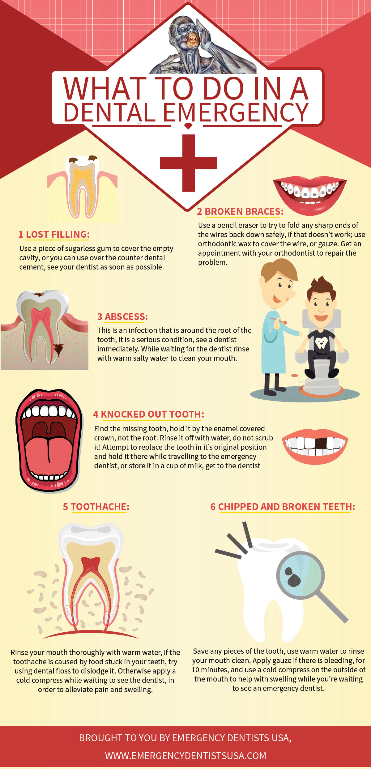 Do you know how to handle a dental emergency? Take a look at this ...