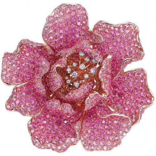 https://www.bkgjewelry.com/sapphire-ring/514-18k-white-gold-diamond-blue-sapphire-solitaire-ring.html https://www.bkgjewelry.com/sapphire-pendant/907-18k-yellow-gold-blue-sapphire-cross-pendant.html https://www.bkgjewelry.com/ruby-earrings/723-18k-white-gold-diamond-stud-ruby-earrings.html Brooch. Pink sapphires, diamonds and rose gold. Love the pink sapphires...
