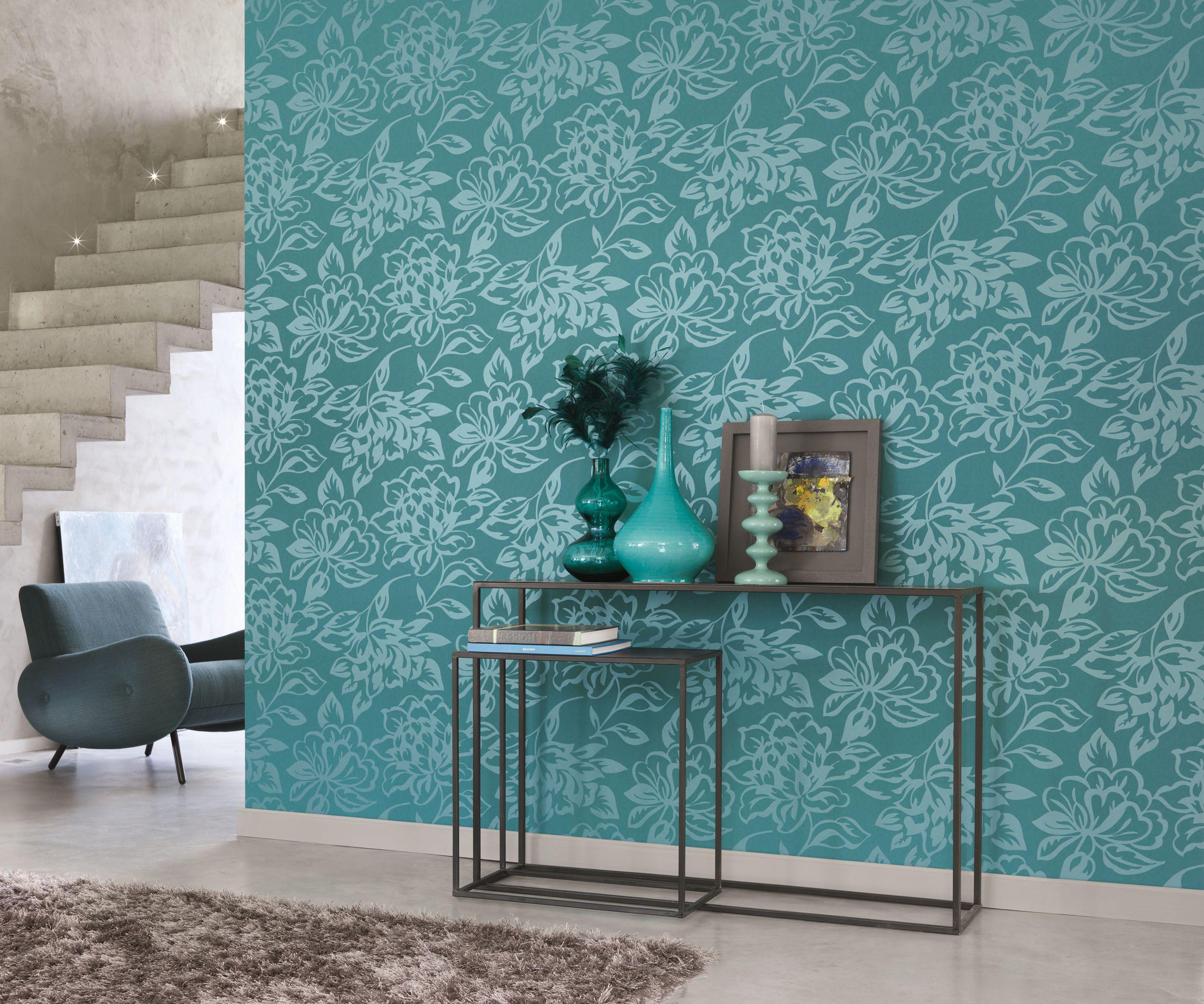 Wandtapete Wohnzimmer ~ 14 besten luxus tapete bilder auf pinterest luxus tapeten