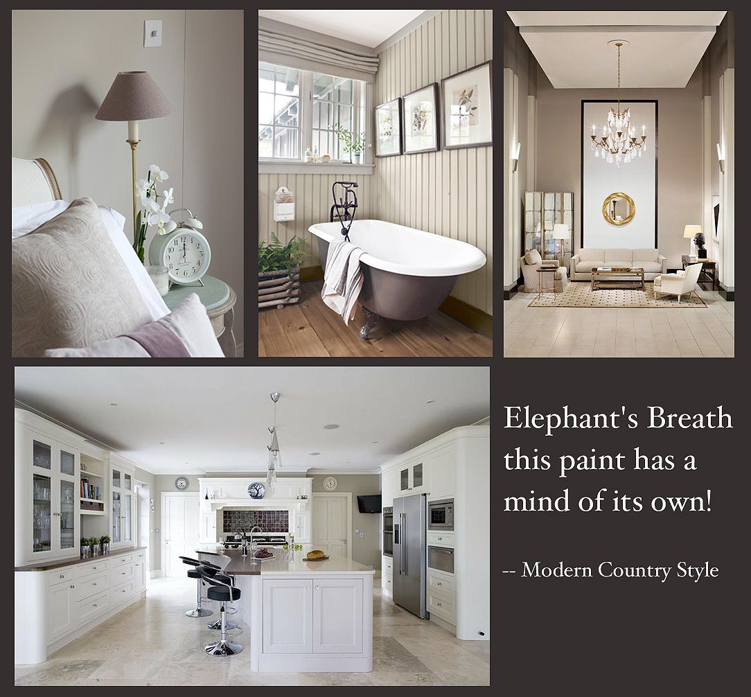Farrow And Ball Elephant's Breath Paint