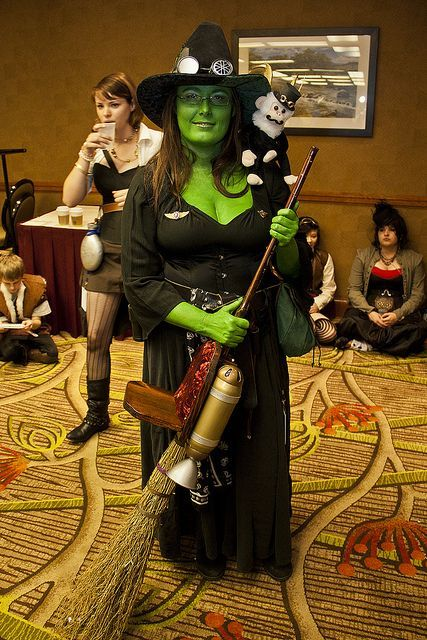 Steampunk wicked witch | Wizard of Oz Costumes Wicked Witch ...