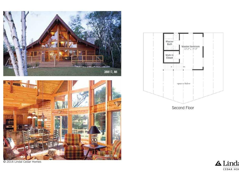 Small Treasures Home Plans – Lindal Log Home Plans