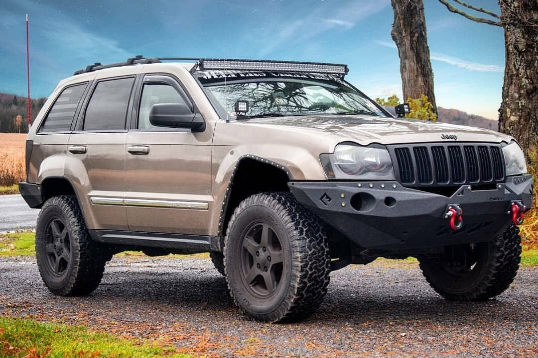 Auxbeam Quad Beam Series Led Light Bar Fits The Jeep Really Well