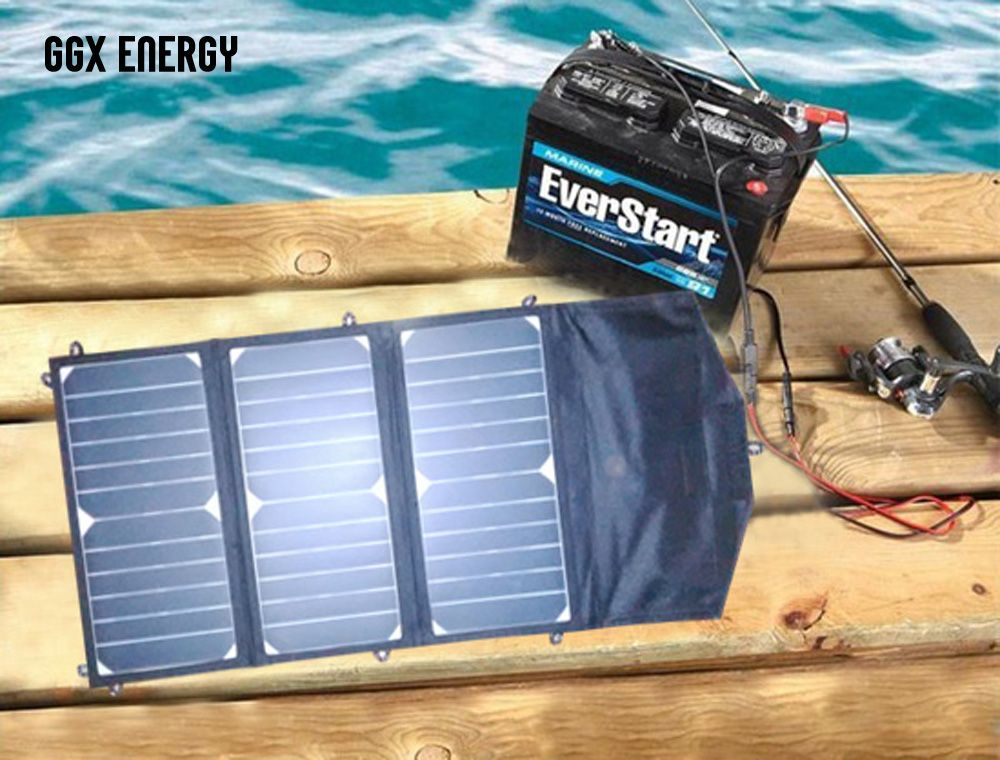 Free Shipping Buy Best 20 Watt Folding Solar Panel With 10 Amp Solar Controller12v Car Boat Yacht Jetski Battery Chargerphone Laptop Charger Online With L