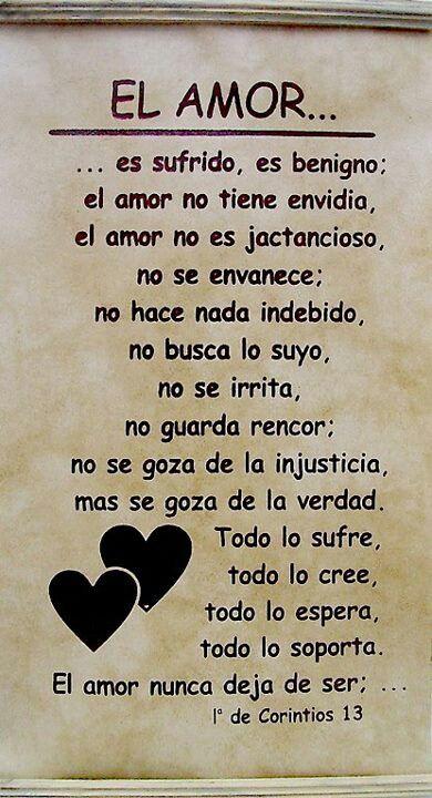 1 Corintios 13 El Amor Es Paciente Y Muestra Comprensión El