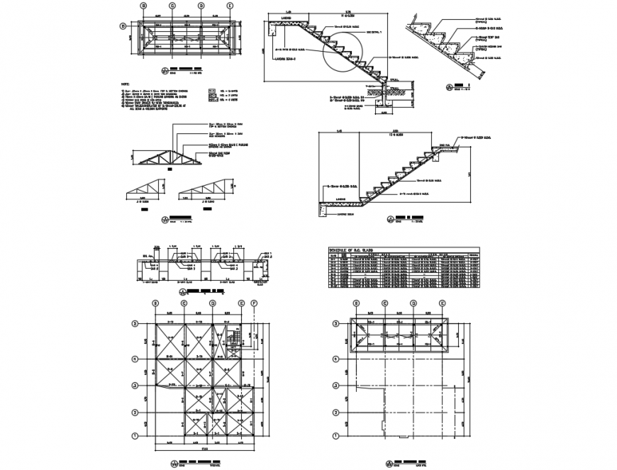 structural plan of house with foundation stairways roof on types of structural walls id=63964