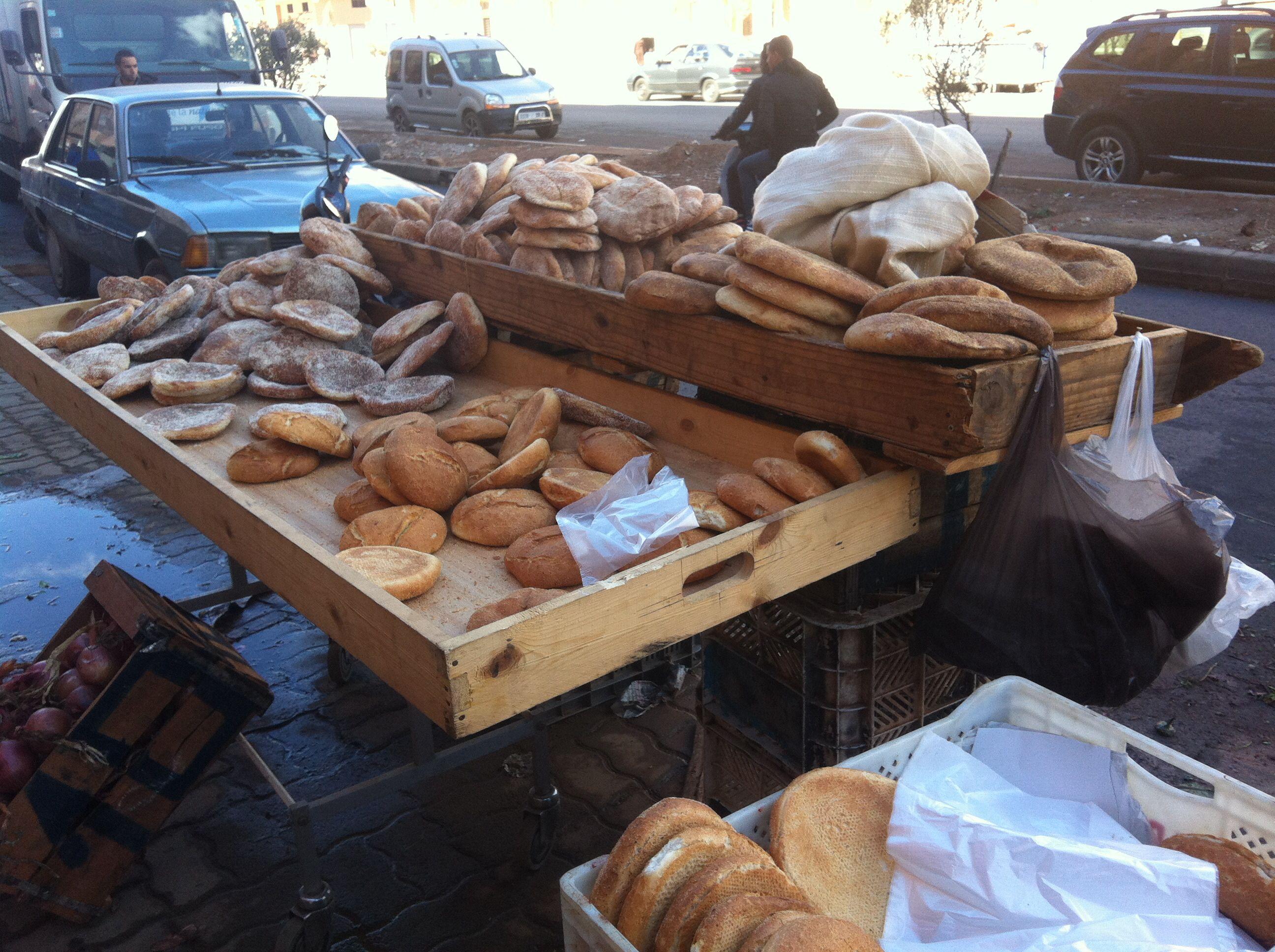 الخبز في المغرب