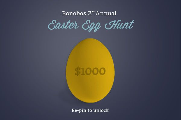 If this image gets 1,000 re-pins, we'll unlock a new hidden $1,000 promo code on www.bonobos.com or www.facebook.com/bonobos, valid for the first person who finds it!
