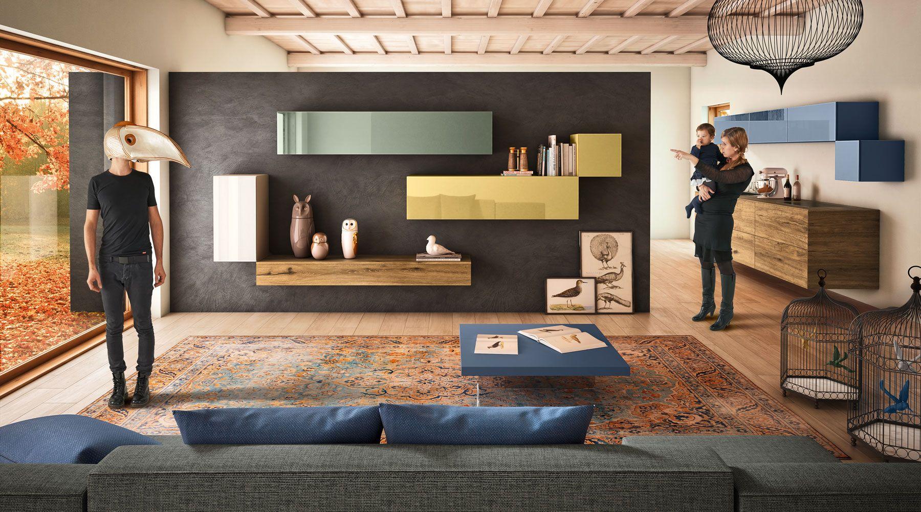 Soggiorno 36e8 #lagodesign | Home living room, Living room ...